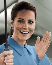 "Catherine, Duchess of Cambridge (born Catherine Elizabeth ""Kate"" Middleton; 9 January 1982)["