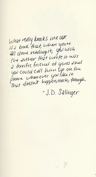 Salinger: Bookish, Quote, Books Worth, Books Rel, Bibliophil, Bookworm ...