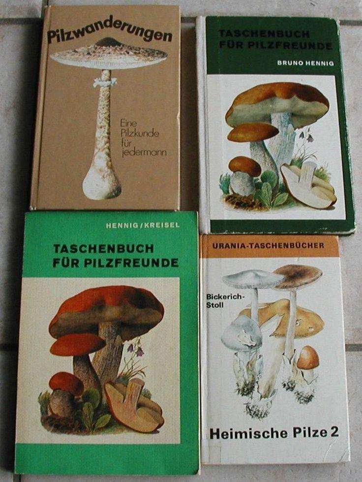 Taschenbuch für Pilzfreunde und Pilzsammler, Pilze bestimmen, Pilzwanderungen