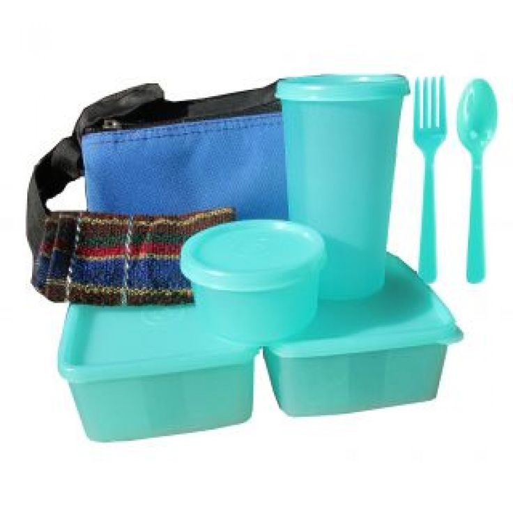 Microwaveable Lunch Box (Set of 8 Pcs.)  Carry to office nutritiously balanced meals complete with dahi (yoghurt), nimbu pani (lemonade), lassi (buttermilk). Homemade lunch is healthier and works out much cheaper. See how much you save by sending homemade food rather than buying it from elsewhere. Save on doctor's bills too.
