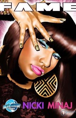Nicki Minaj, Adele and Robbie Williams will be comic book characters