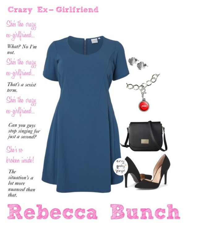 """""""Crazy Ex-Girlfriend: Rebecca Bunch"""" by curvygeekyfangirl ❤ liked on Polyvore"""