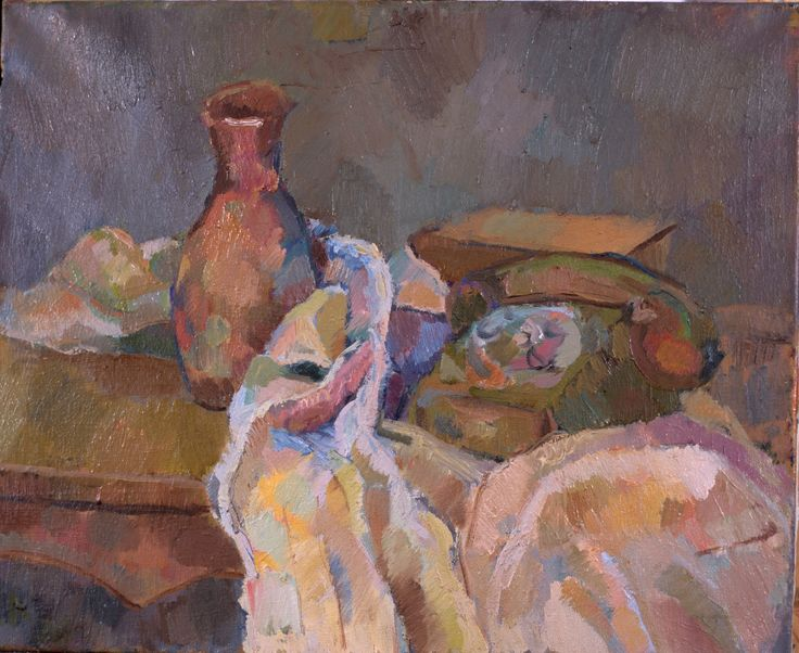 """Közelség"" 40x40 cm oil painting on canavas"
