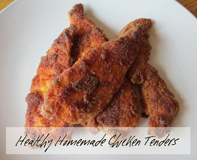 Healthy & GF Chicken Tenders Recipe