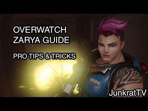 OVERWATCH ZARYA GUIDE | Overwatch Hero Guides #1 - http://freetoplaymmorpgs.com/overwatch-online/overwatch-zarya-guide-overwatch-hero-guides-1