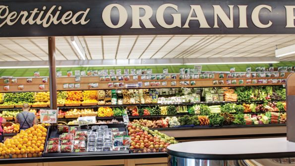 Natural Grocers, all organic grocery store, just opened in Denton. Be sure to bring your own shopping bags!