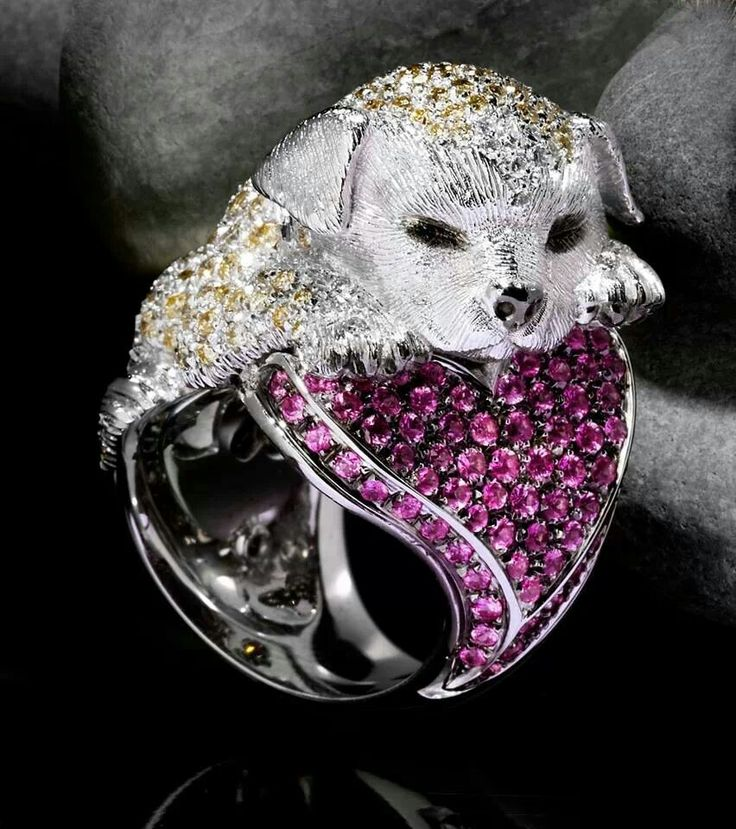 Scavia Ring - A SWEET PUPPY<3<3<3