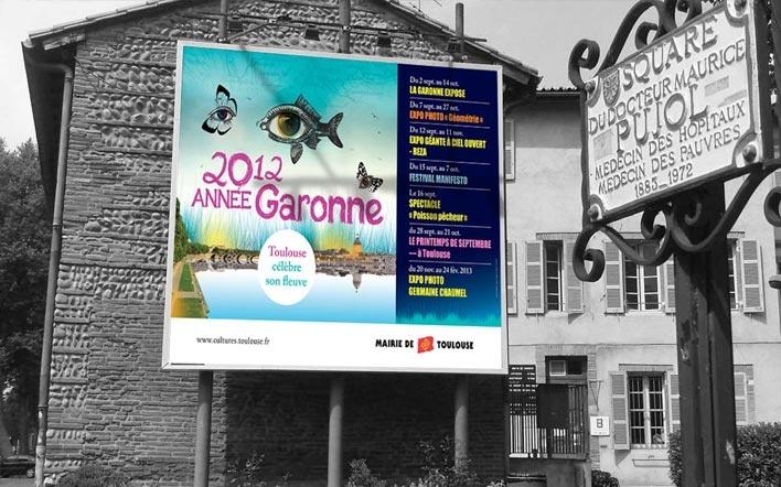 Année Garonne 2012, mairie de Toulouse