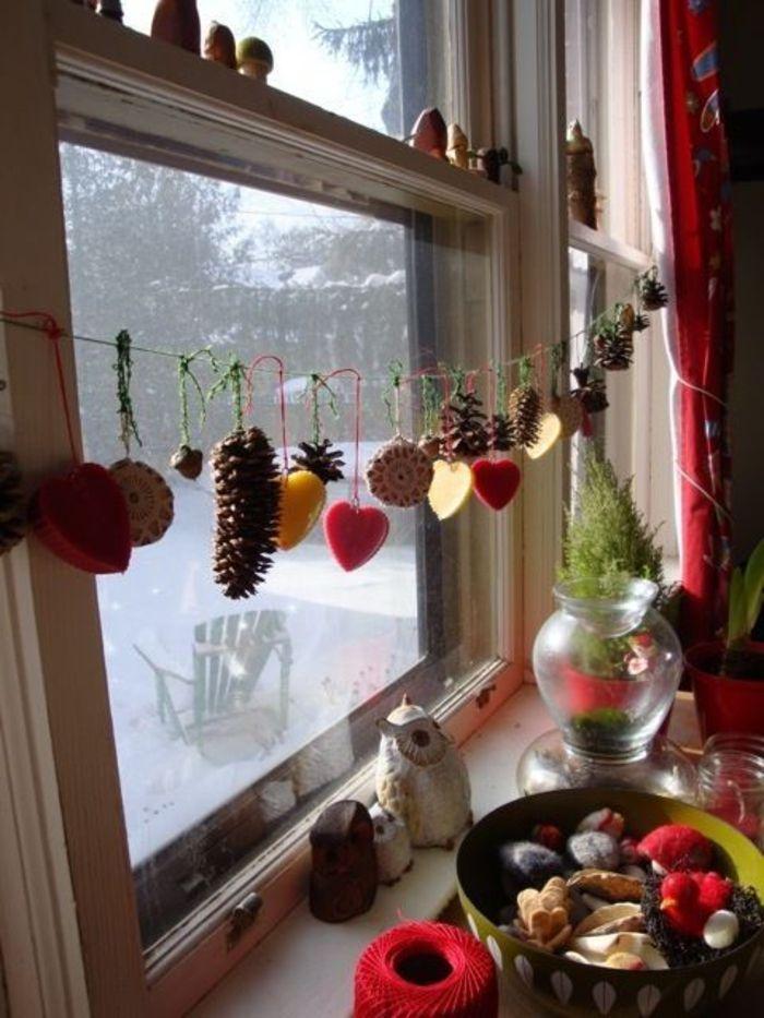 Fenster Weihnachtlich Gestalten Kinder Wohn Design