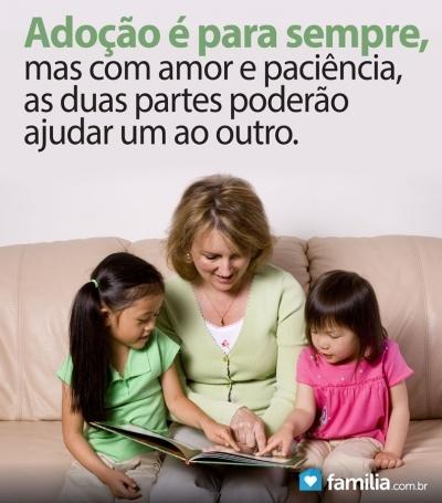 Familia.com.br | Adotar é gerar com o coração: Como se tornar pais adotivos #Adocao #Amor #Preparacao #Pais