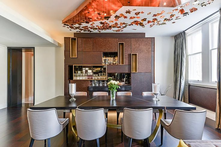 Dinning room by Macassar Properties - London investment and development company