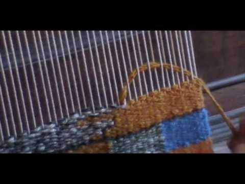 Art Weaving Demo -Clasped Weft and Inclusions – Yo…