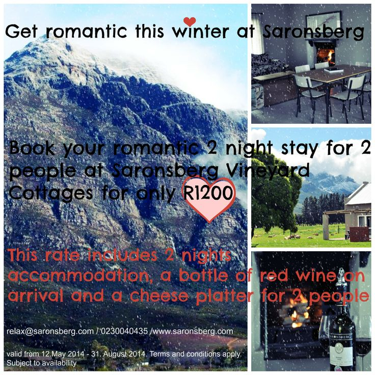 #winter #accommodation #Tulbagh