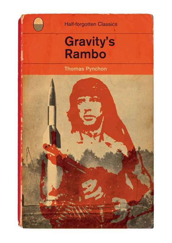 Gravity's Rambo by Thomas Pynchon  by StandardDesigns on Etsy, £12.50