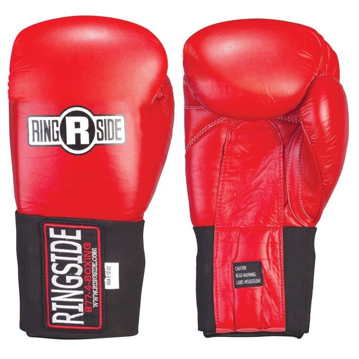 Ringside Competition Safety Gloves Hook & Loop mma muay thai martial arts gear  #Ringside