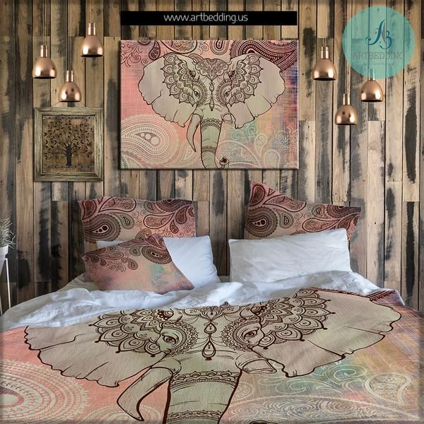 Elephant Decor Ideas: 25+ Best Ideas About Elephant Bedding On Pinterest
