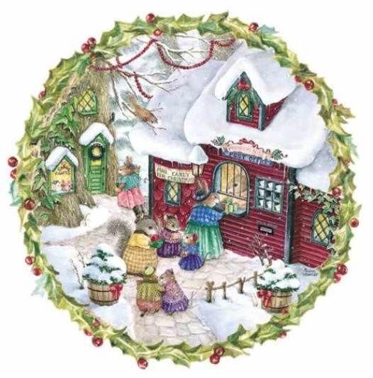 Сказочный мир, где волшебство и радость спрятаны в простых удовольствиях повседневной жизни. Очаровательные кролики, главные герои этой сказки, катаются на коньках, ходят в гости, восторгаются пирожеными, радуются новогодней елке, играют в куклы, пьют чай в уютных домиках, греются у костра, читают книжки.