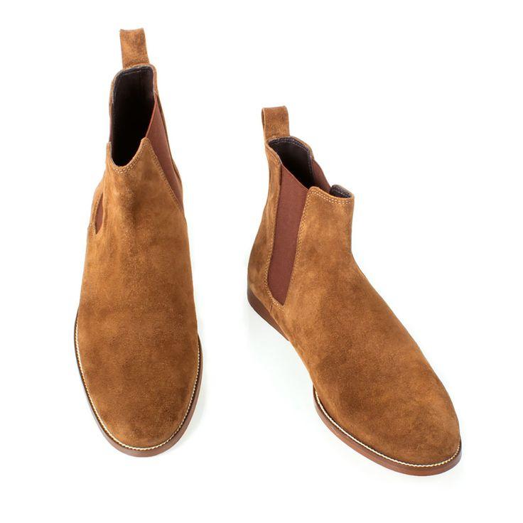 Men's suede #chukka boots