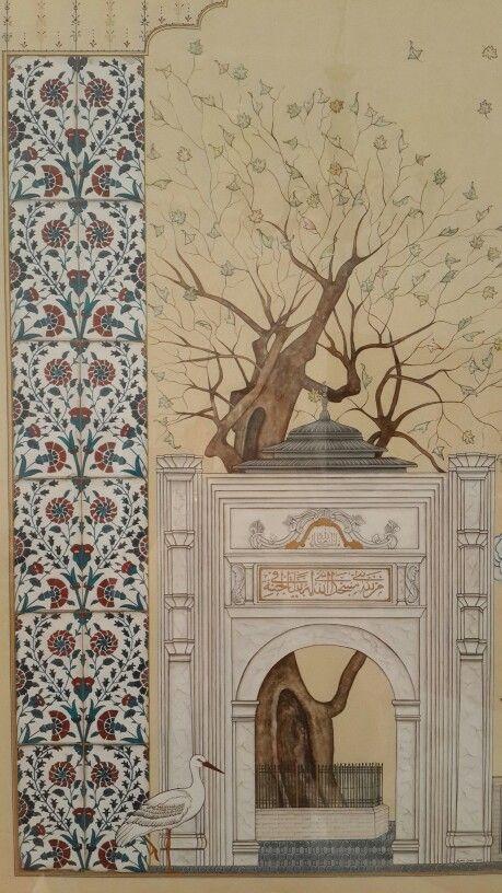 Eyüp Sultan camii tasarım