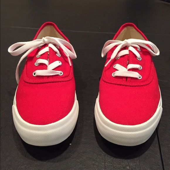 Red Pro Keds Look brand new with one tiny spot on the side in last picture. Nothing else wrong Pro Keds Shoes Sneakers