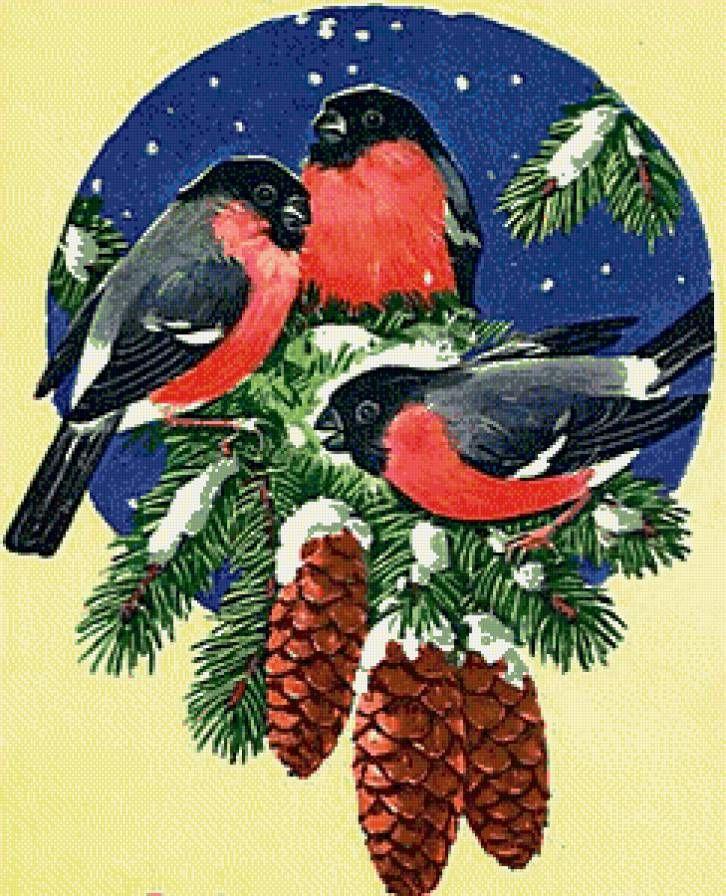 Новогодние открытки цветными карандашами, анжелы джерих
