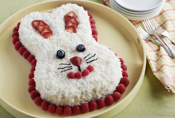 Berrylicious Bunny Cake Recipe