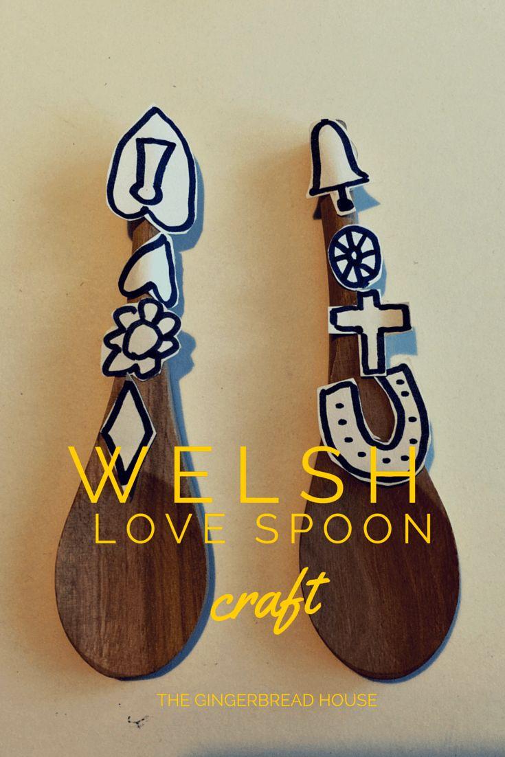 Welsh love spoon craft