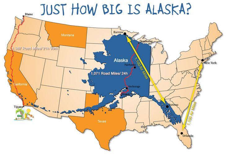 Just How Big is Alaska?