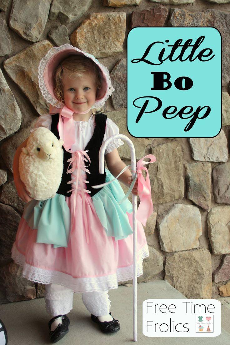 Halloween Costume -Little Bo Peep | Free Time Frolics