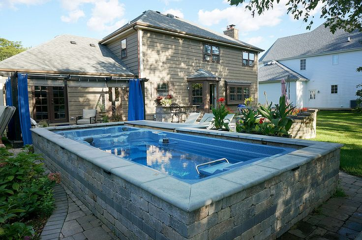 28 Best Images About Swim Spa Install Ideas On Pinterest Swim Stone Patios And Energy Saving Tips