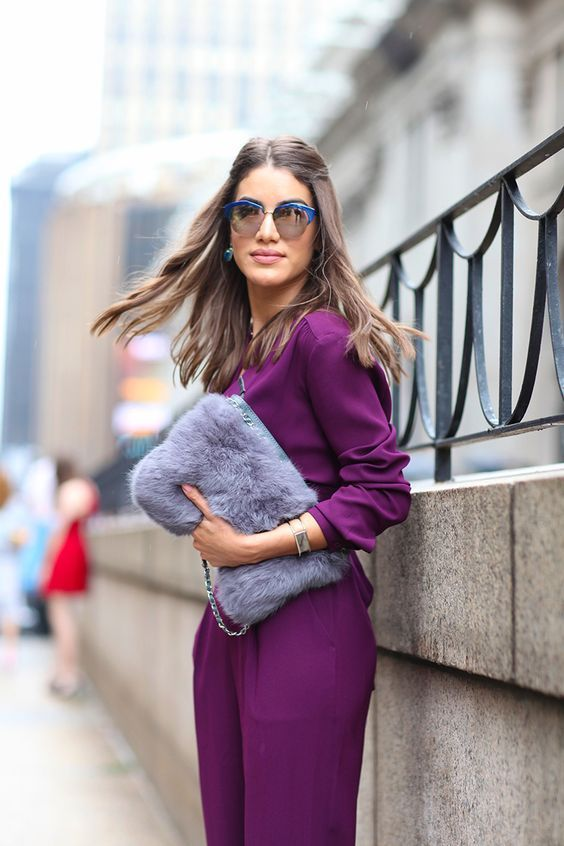 Lavender Outfit Ideas to Try in 2018: Accessorize with Lavender