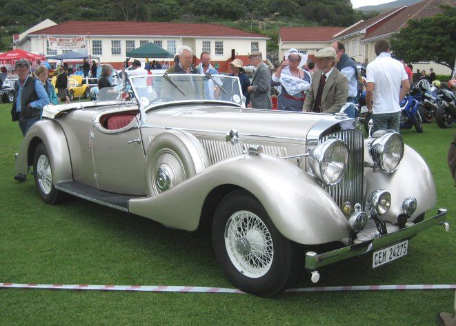 Jensen 1939 Continental H Series Tourer