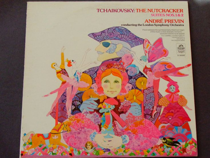The Nutcracker Suites 1 & 2 - Tchaikovsky - Andre Previn - London Symphony - Angel Records 1974  - Christmas Vinyl LP -Classical  Ballet by notesfromtheattic on Etsy