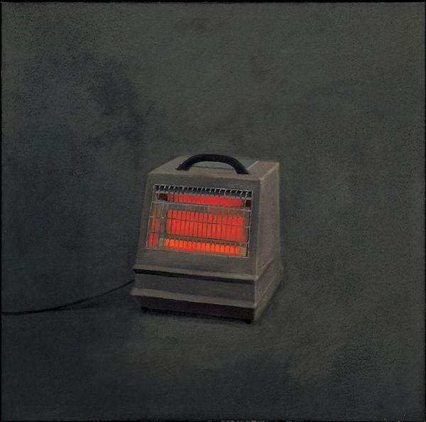 Vija Celmins, Heater, 1964. Oil on canvas, 47 7/16 × 48 in