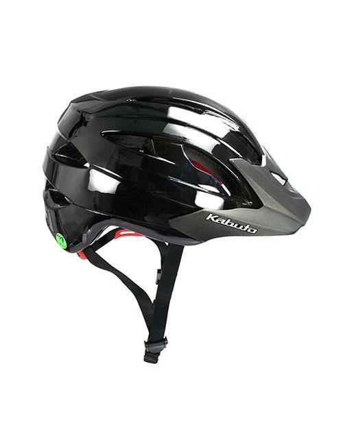 OGK Kabuto FM-8 Helmet - Gloss Black | Bicycle Helmet | www.unikcycle.com