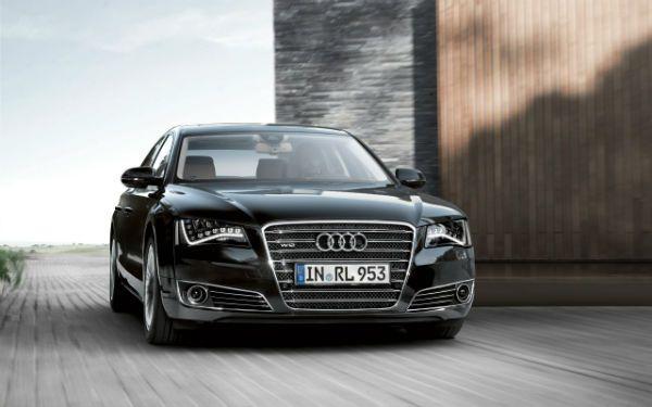Audi A8 W12 2013