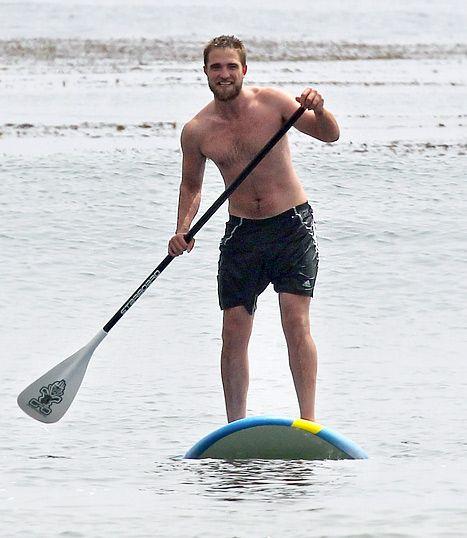 Rob Pattinson, Paddleboarding