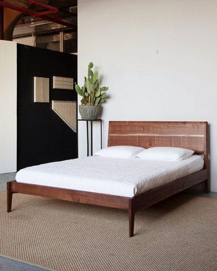 Love this beautiful handmade bed.