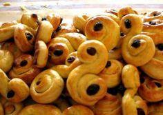 Winter ~ Santa Lucia ~ Saffron Buns ~ recipe