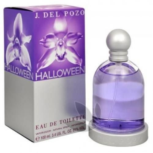 Halloween Eau De Toilette 50ml  Seductive and magical perfume is like Halloween olfactory love potion whose basic ingredients do not volatilise as usual smell, but fantasy shoot arrows into the hearts of the victims. Eau De Toilette spray 50ml