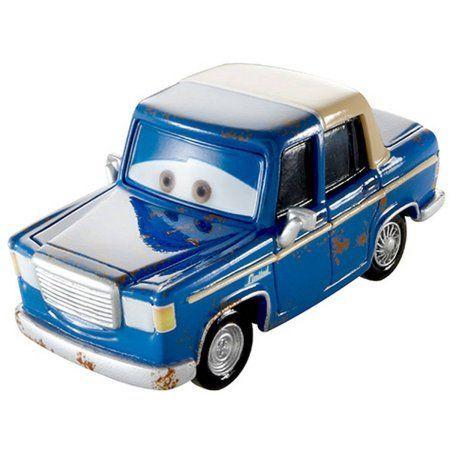 Disney Cars Die-Cast Figure, Otis, Blue