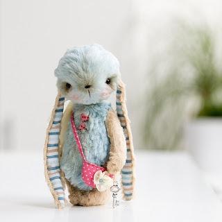 Oh, oh, oh... little handmade bunny.