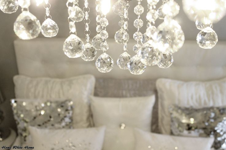Home White Home: Syntymäpäivälahja säihkyy makuuhuoneessa