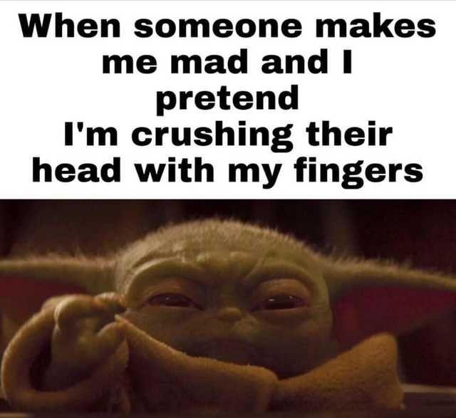 Angry Baby Yoda Meme Angry Yoda Meme Yoda Meme Yoda Funny Funny Star Wars Memes