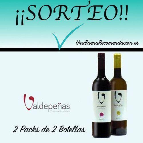 Sorteo 2 Estuches de 2 Botellas de Vino D.O. Valdepeñas