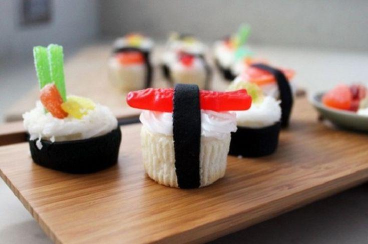 Cupcake de sushi