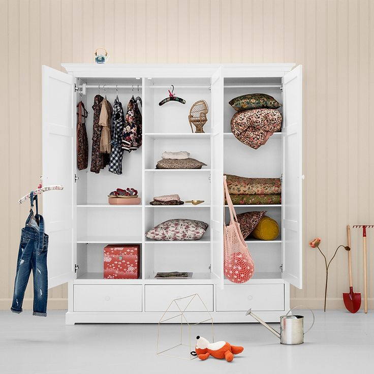 Oliver Furniture Kleiderschrank 3-türig XL aus der Seaside Colle