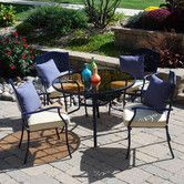 Found it at Wayfair - Sims 5 Piece Dining Set with Cushions