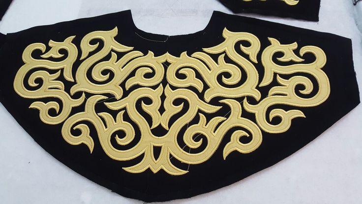 Armelit Nakış - Kazakistan motifi
