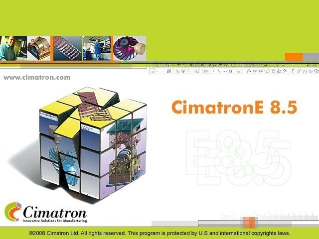 photo Cimatron Elite E8 5 X86 X64 Full | CAD CAM CNC